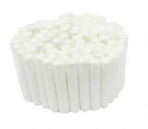 Roletes de algodão