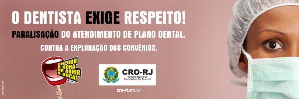 Campanha do CRORJ pela valorização da Odontologia