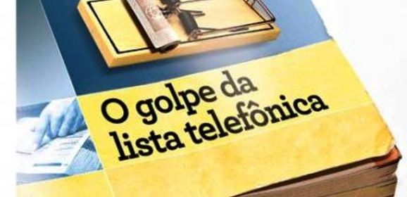 O golpe da lista telefônica