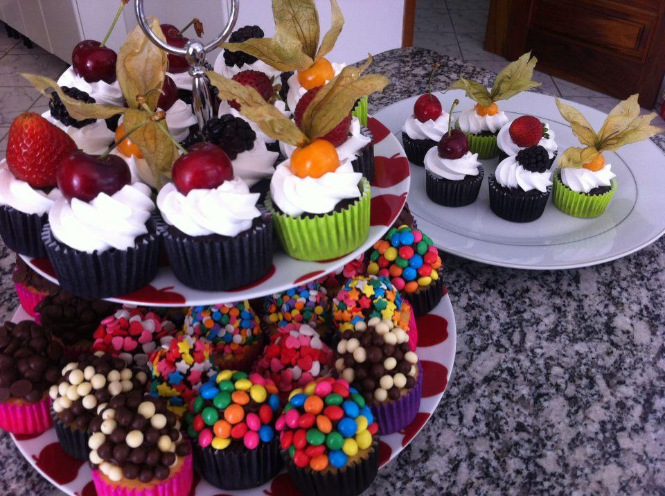 Cupcakes do meu aniversário em 2012
