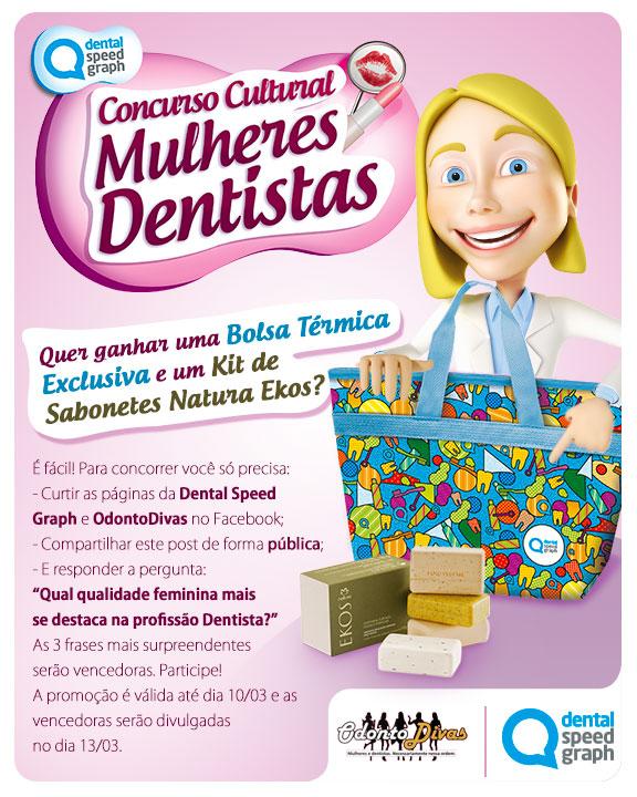 Concurso Cultural Mulheres Dentistas - Dental Speed Graph