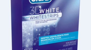 Fitas clareadoras da Oral B