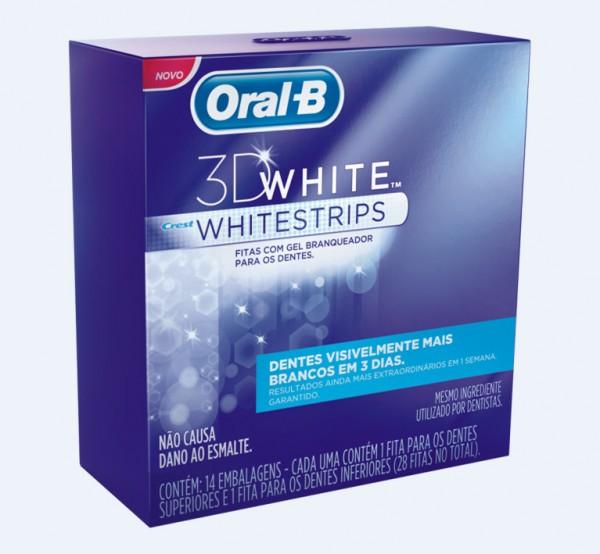 Fitas clareadoras da Oral B