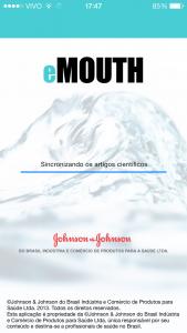 Aplicativo eMOUTH da Johnson & Johnson