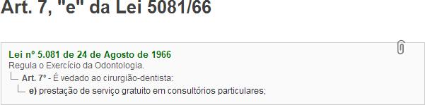 Lei 5081/66