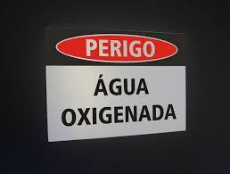 Nome popular do Peróxido de Hidrogênio