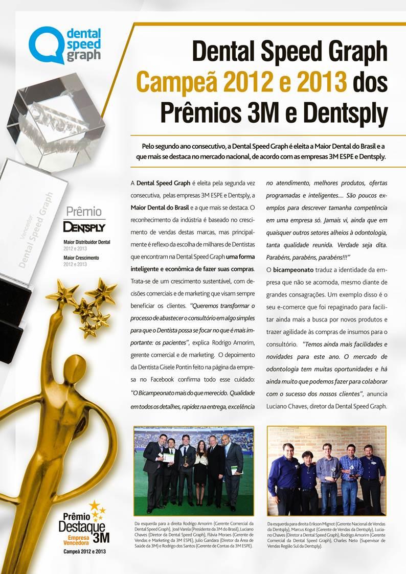 Dental Speed Graph: Prêmio