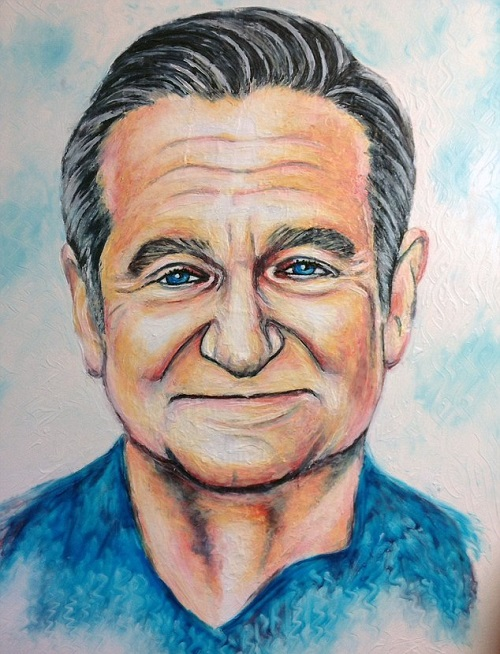 Robin Williams: técnica - pasta de dentes O.o