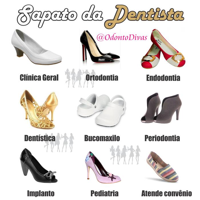 Sapato da dentista