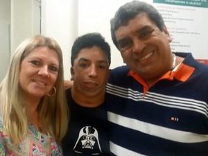 Daniel e seus pais