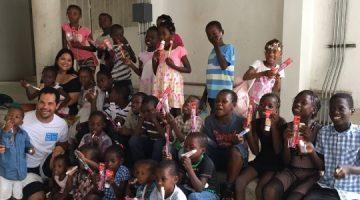 Dentistas voluntários no Haiti